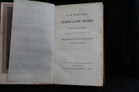 Sämtliche Werke. - C. M. Wielands Sämmtliche Werke. Bd 1-3: Geschichte des Agathon. Th. 1-3