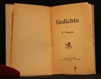 Gedichte / von E. Viereck