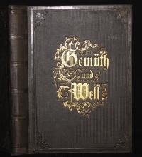 Gemüth und Welt : lyrische Dichtungen / von Friedrich Marx