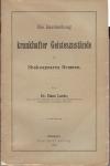 Die Darstellung krankhafter Geisteszustände in Shakespeares Dramen / von Hans Laehr