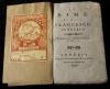 Le Rime / di Mess. Francesco Petrarca. - Riscontrate con l'ed. cominiana dell'anno 1732