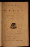 Werke. - Klopstocks Werke. Bd 8: Der Tod Adams. Hermanns Schlacht