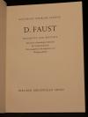 D. Faust : Fragmente u. Berichte / Gotthold Ephraim Lessing. Mit e. vollst. Faks. d. Fausthandschrift. Hrsg. u. eingel. von Wolfgang Milde. - (Berliner Bibliophilen Abend. Jahresgabe. 1988/89)