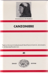 Canzoniere / Francesco Petrarca. Testo critico e introd. die Gianfranco Contini. Annotazioni di Daniele Ponchiroli - 12. rist. 1989. - (Nuova Universale Einaudi ; 41)